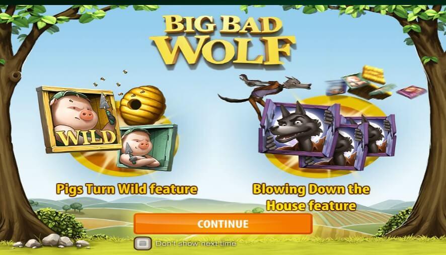 Big Bad Wolf φρουτάκι,big bad wolf slot