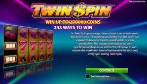 Φρουτάκι Twin Spin