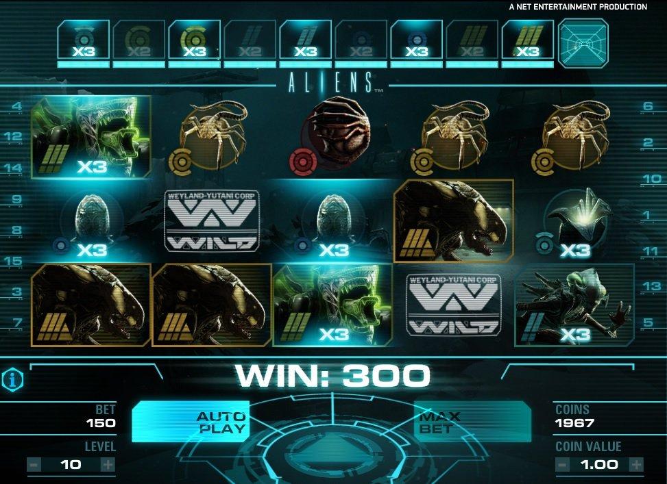 Φρουτάκι Aliens επίπεδο 1