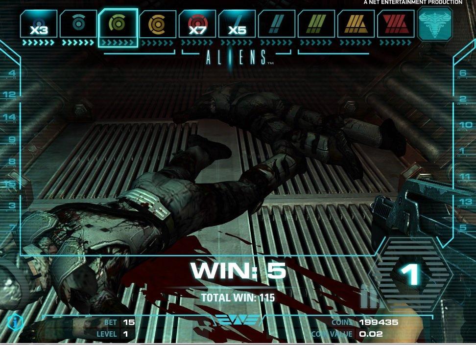 Φρουτάκι Aliens επίπεδο 2