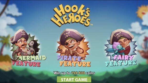 Φρουτάκι Hook's Heroes