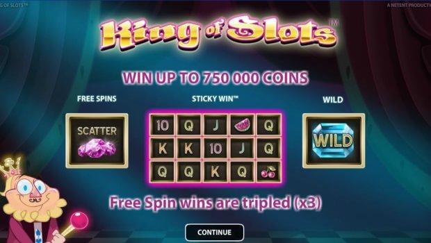 Φρουτάκι King of Slots