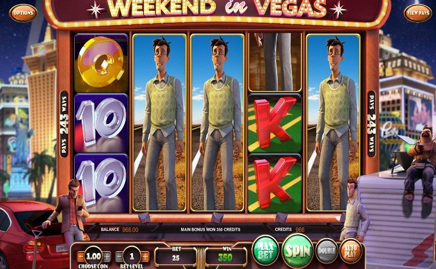 Φρουτάκι Weekend in Vegas χαρακτηρας