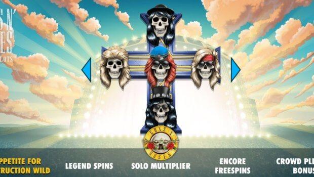 Φρουτάκι Guns N' Roses
