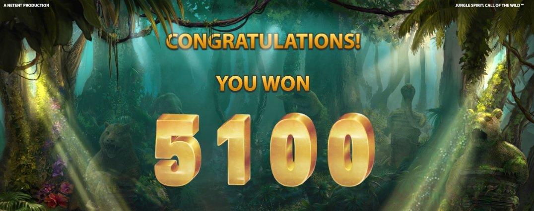 Φρουτάκι Jungle Spirit: Call of the Wild WIN