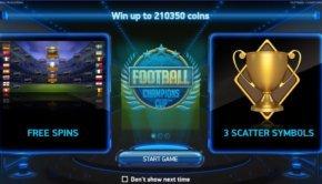 Φρουτάκι Football: Champions Cup