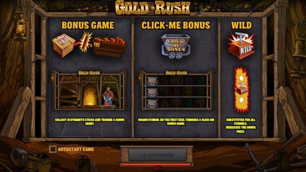 Φρουτάκι Gold Rush