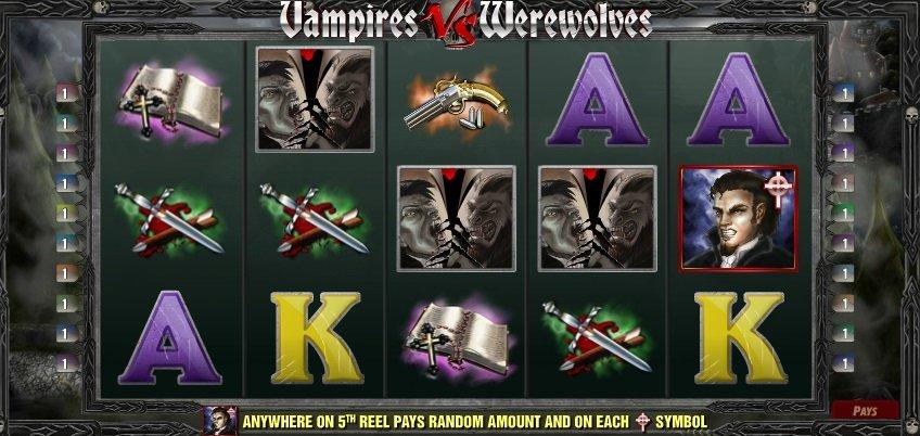 Φρουτάκι Vampires vs. Werewolves scatter