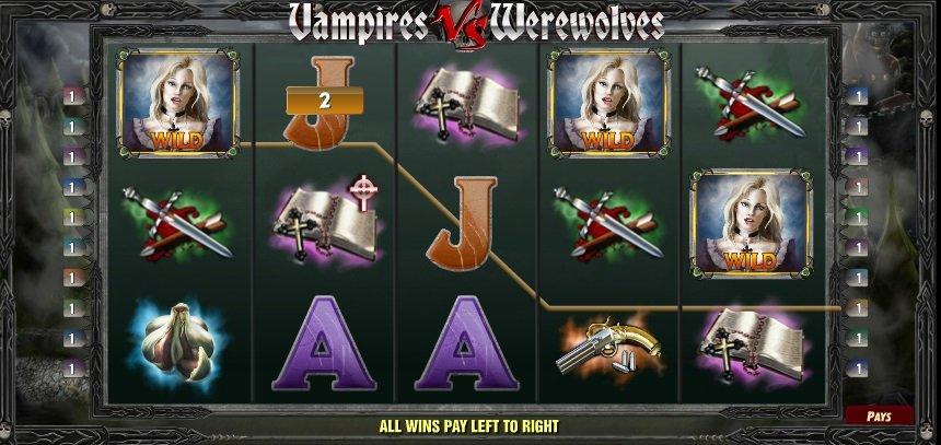Φρουτάκι Vampires vs. Werewolves wild
