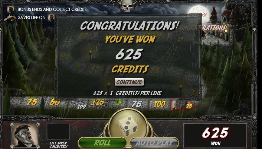 Φρουτάκι Vampires vs Werewolves win