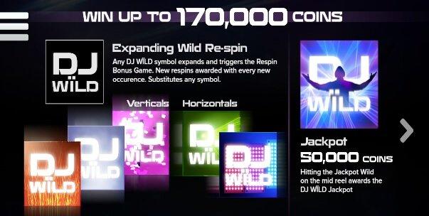Τζακποτ στο Φρουτάκι DJ Wild και 50000 νομίσματα