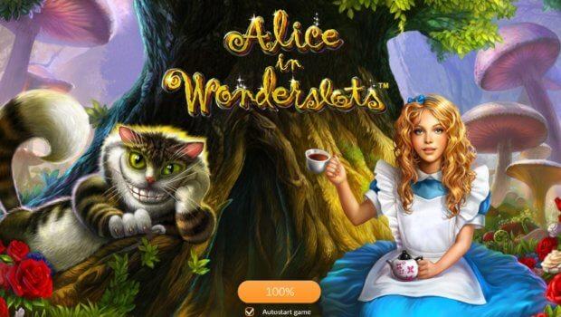Φρουτάκι Alice in Wonderslots