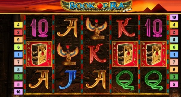 book of ra deluxe rtp
