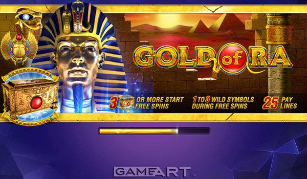 Φρουτάκι Gold of Ra