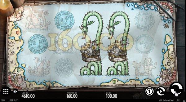 σύμβολο wild στο Φρουτάκι 1429 Uncharted Seas