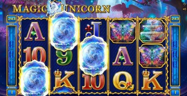symbolo scatter sto magic unicorn