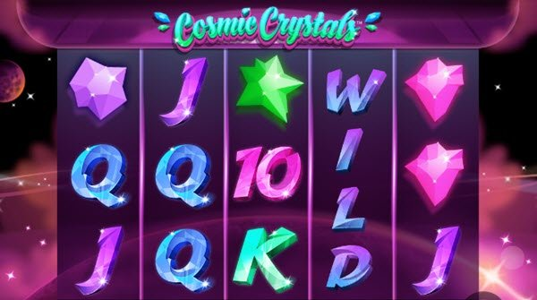 σύμβολο wild στο φρουτάκι cosmic crystals