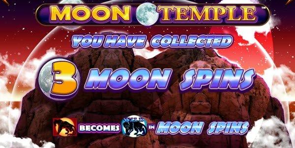 γύρος μπόνους Moon Spins