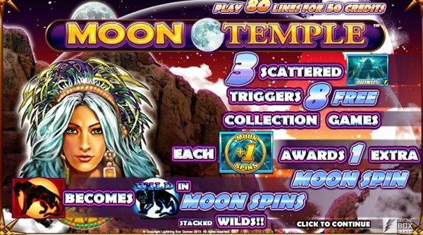 φρουτάκι Moon Temple