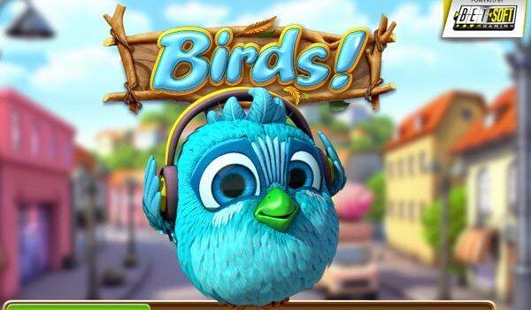τρισδιάστατο φρουτάκι Birds