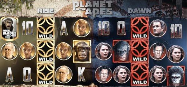 τα καλύτερα φρουτάκια : Planet of the Apes