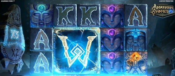 συμβολα wild στο φρουτακι asgardian stones