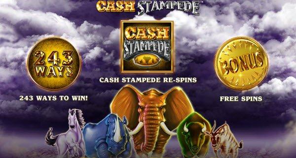 Φρουτάκι Cash Stampede