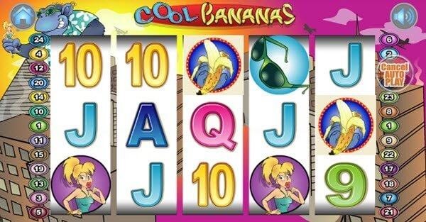 symbolo scatter sto froytaki cool bananas