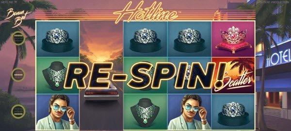 wild και re-spin σε μία hotline sto froytaki hotline