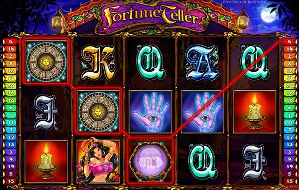συμβολο wild στο φρουτακι fortune teller