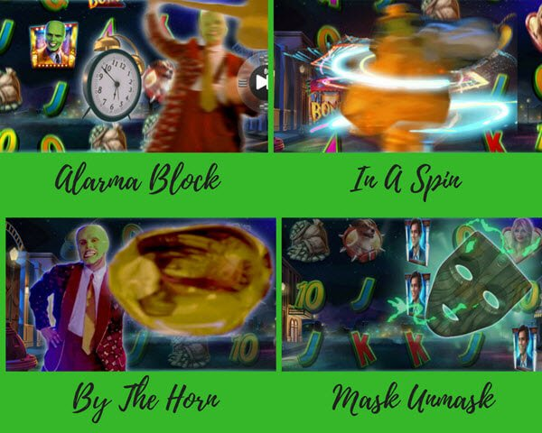 bonus features sto froytaki the mask