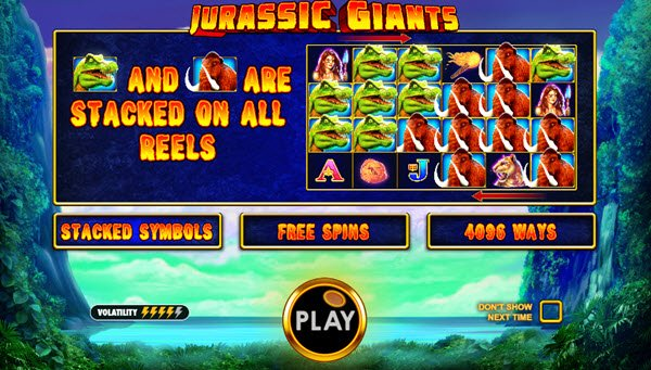 Φρουτάκι Jurassic Giants