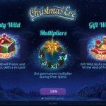 Φρουτάκι Christmas Eve της Playson