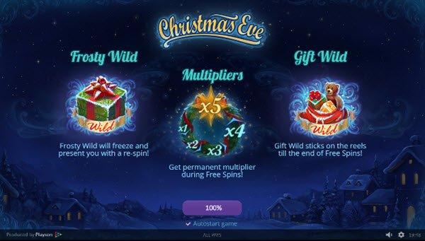 Φρουτάκι Christmas Eve φρουτακια της Playson