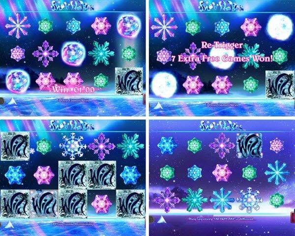 χαρακτηριστικα μπονουτς στο φρουτακι snowflakes