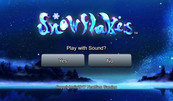 Φρουτάκι Snowflakes-φρουτακια της NextGen Gaming
