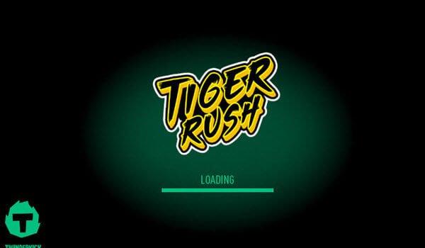 φρουτάκι Tiger Rush -φρουτακια thunderkick
