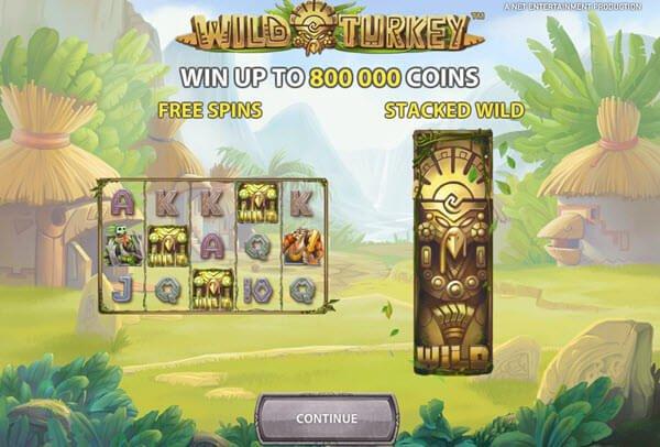 Φρουτάκι Wild Turkey φρουτακια της NetEnt