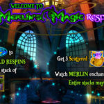 Φρουτάκι Merlin's Magic Respins της NextGen