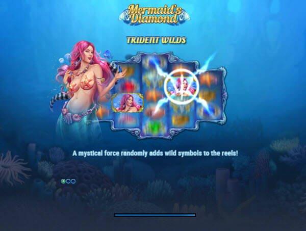 Φρουτάκι Mermaid's diamond της Play'n GO