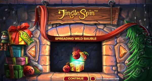 Φρουτάκι Jingle Spin της NetEnt