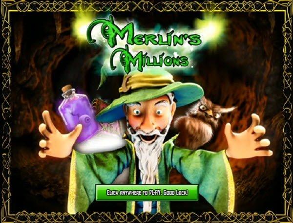 Φρουτάκι Merlin's millions της Microgaming