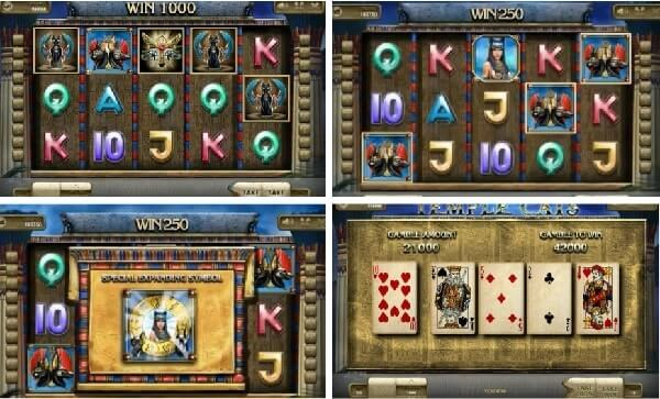 free spins sto froytaki temple cats