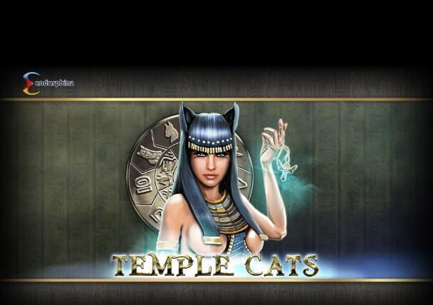Φρουτάκι Temple Cats της Endorphina