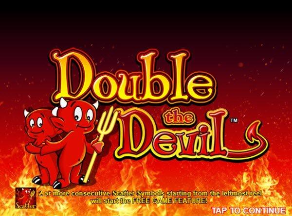 Φρουτάκι Double the devil της Cadillac Jack software