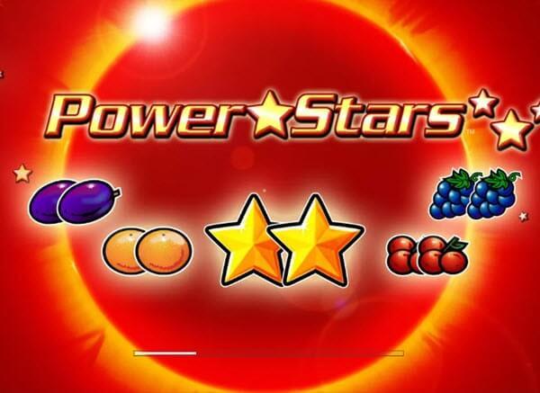 Φρουτάκι Power Stars της Novomatic