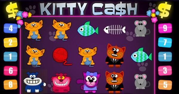 Φρουτάκι Kitty Cash της 1X2 Gaming