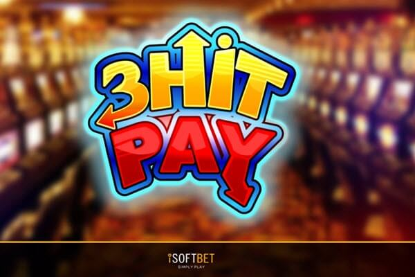 Φρουτάκι 3 Hit Pay Κλασικά φρουτάκια της iSoftBet