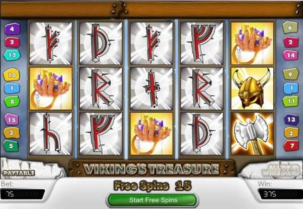 Δωρεάν online Φρουτάκι Vikings treasure