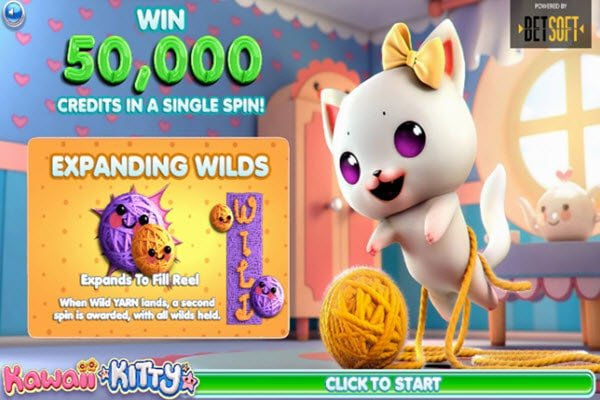 Online φρουτάκι Kawaii Kitty-Betsoft slots